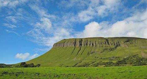 Benbulben mountain Sligo Ireland