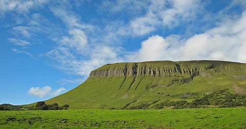 Benbulben mountain Sligo Ireland